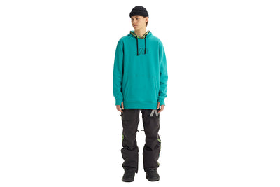 Analog Crux Pullover Green Blue Slate