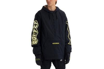 Analog Chainlink Anorak Black