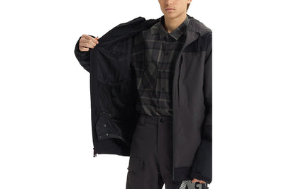 Analog Greed Jacket Black Phantom