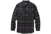 Analog Transmission Flannel True Black Mind Plaid