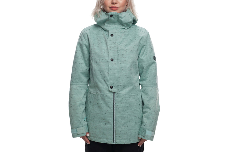 686 WOMENS RUMOUR INSULATED JACKET SEAGLASS SLUB