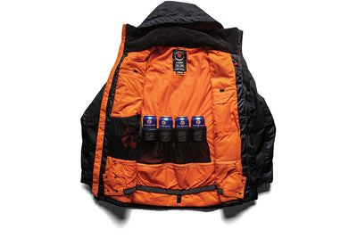 686 Sixer Insulated Jacket Black Topo Colorblock