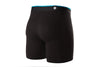 STANCE BASILONE STAPLE BOXERS BLACK
