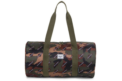 HERSCHEL X INDEPENDENT PACKABLE DUFFLE CAMO