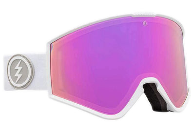 Electric Kleveland Alt Fit Matte White Brose Pink Chrome