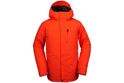 Volcom Mens L INS Gore-Tex Jacket Orange