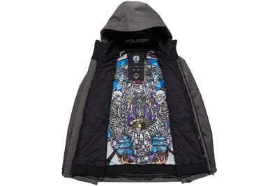 Volcom Mens Pat Moore 3-In-1 Jacket Black