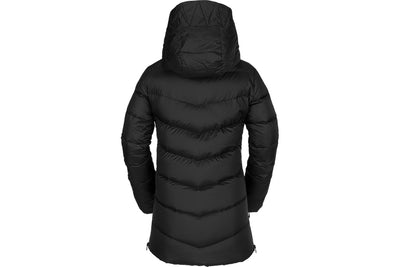 VOLCOM WOMENS STRUCTURE DOWN JACKET BLACK