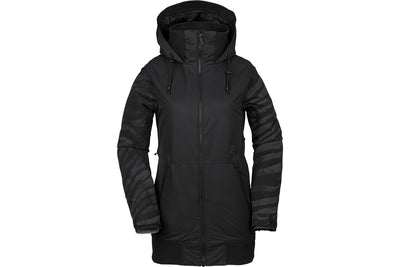 VOLCOM WOMENS MEADOW INS JACKET BLACK