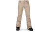 Volcom Womens Species Stretch Pant Sand Brown