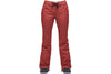 AIRBLASTER WOMENS INSULATED FANCY PANT OXBLOOD