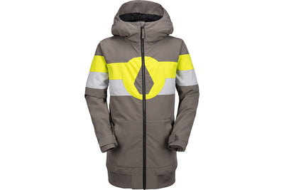 VOLCOM YOUTH WEST JACKET CHARCOAL