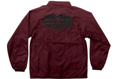 INDEPENDENT INDUSTRY WINDBREAKER MAROON