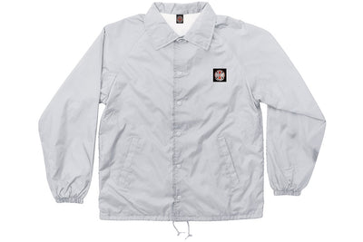 INDEPENDENT ITC BOLD WINDBREAK COACHES JACKET GREY