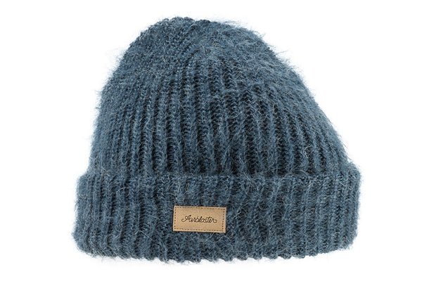 6ff933f73e5 AIRBLASTER NICOLETTE MOHAIR BEANIE BLUE STEEL - Sanction Skate And Snow