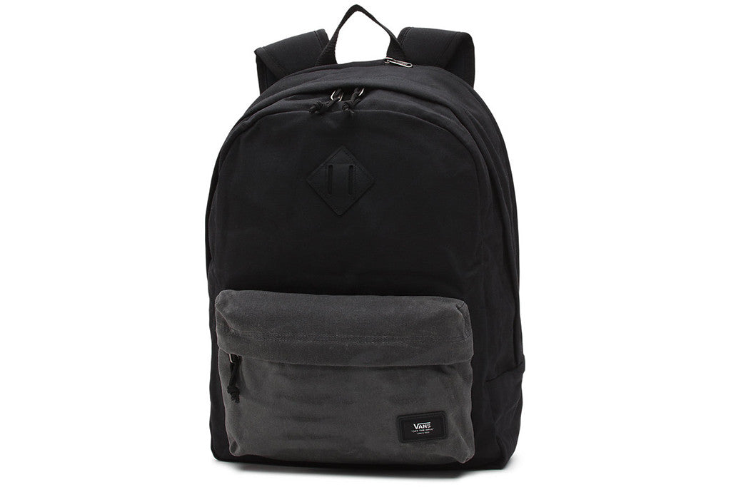 e55121e6dc9 VANS OLD SKOOL PLUS BACKPACK BLACK ASHPHALT - Sanction Skate And Snow