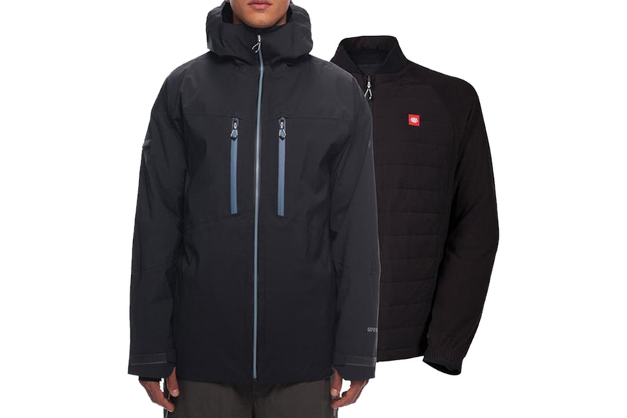 686 SMARTY WEAPON GORE TEX JACKET BLACK