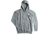 Airblaster Mens Team Zip Hoodie Gunmetal Heather