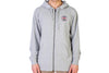Vans OG Checker Zip Hoodie Heather Grey