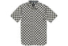 Vans Cypress Short Sleeve Buttondown Shirt Black White Checkered