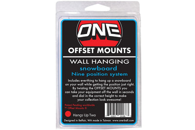 One Ball Jay Offset Wall Mounts