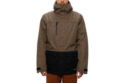 686 Anthem Insulated Jacket Tobacco Colour Block