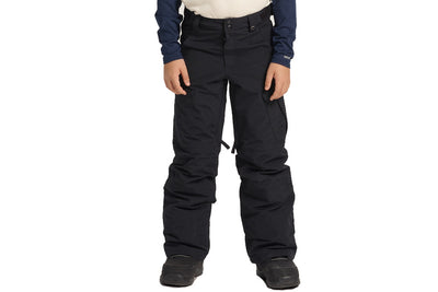Burton Youth Exile Cargo Pant True Black