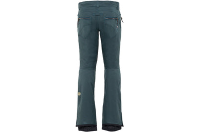 686 Women's Crystal Shell Pant Dark Spruce Satin Dobby