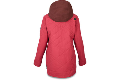 Dakine Cypress Anorak Deep Garnet Rust Brown