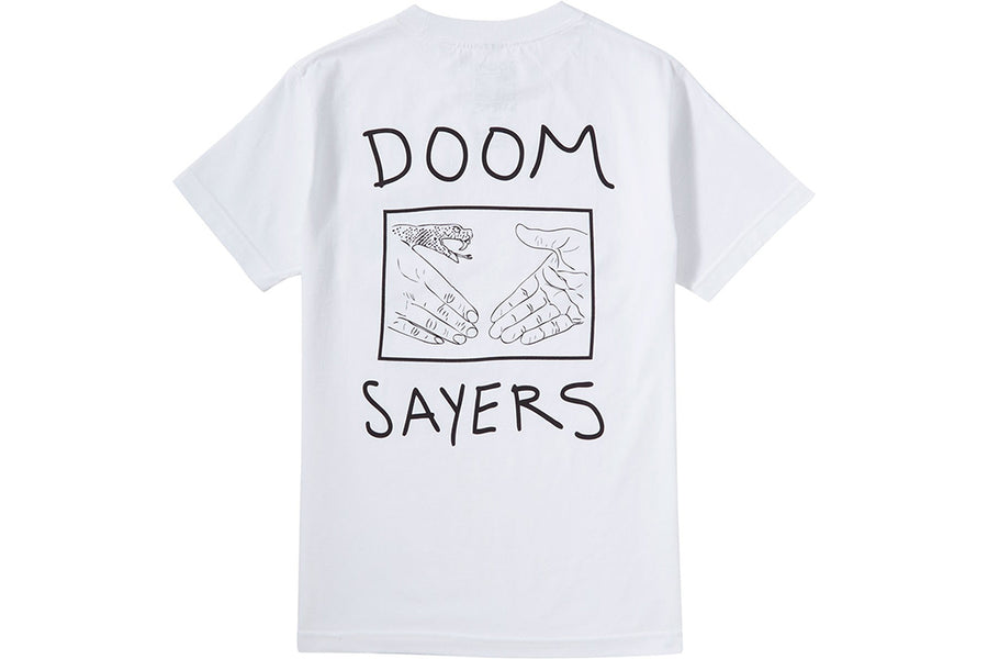 b3a23fea Doom Sayers Pocket Tee Snake Shake White