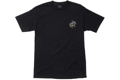 Santa Cruz Dot Splatter Tee Black