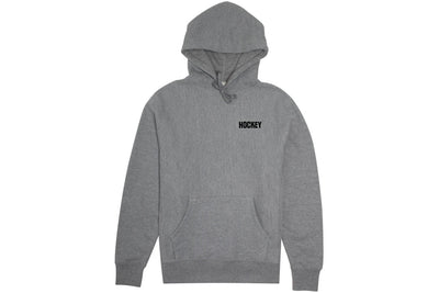 Hockey Marathon Hoodie Heather Grey