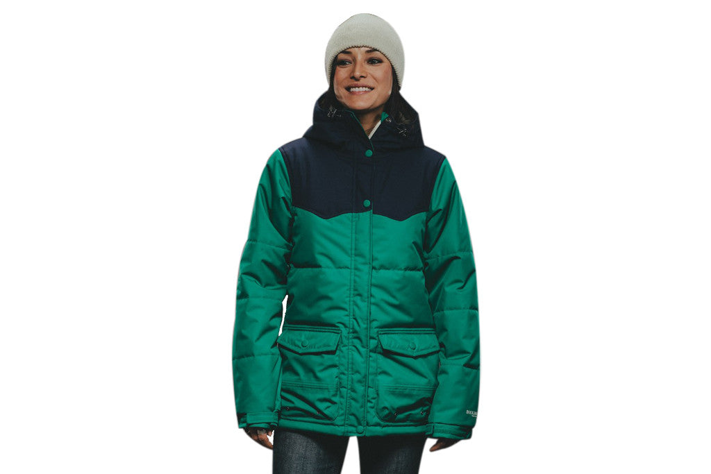HOLDEN WOMENS LOUISA JACKET ULTRAMARINE GREEN - Sanction Skate And Snow c69ebe0e5f