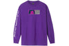 Huf Wonderland Longsleeve Tee Grape