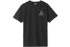 Huf Essentials Triple Triangle Short Sleeve Tee Black