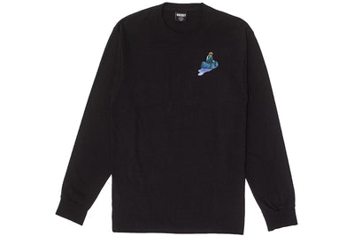 Hockey Runaway Long Sleeve Tee Black
