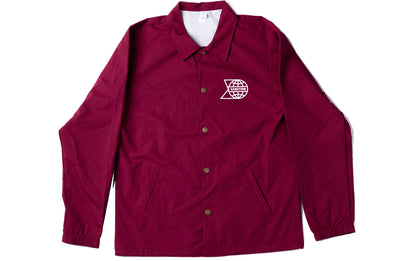 Sanction World Domination Windbreaker Burgundy