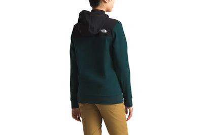 The North Face Tekno Hoodie Pullover Ponderosa Green TNF Black
