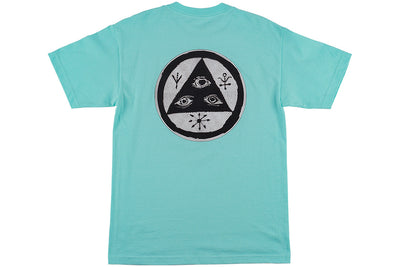 WELCOME VERTIGO TEE TEAL