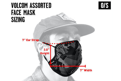 Volcom Face Mask Aether Blue