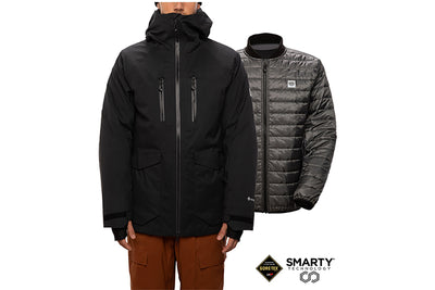 686 GLCR Gore Tex Smarty Weapon Jacket Black