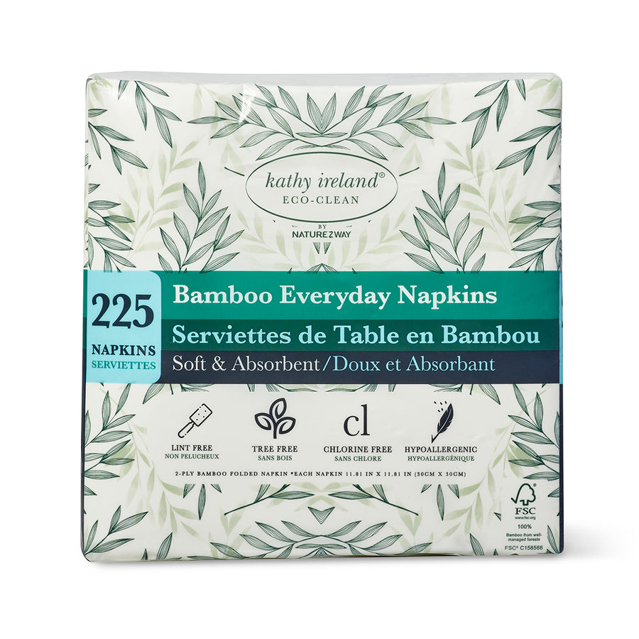 kathy ireland ECO-CLEAN BAMBOO EVERYDAY NAPKINS