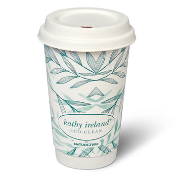 kathy ireland ECO-CLEAN BAMBOO HOT CUPS W/LIDS