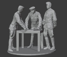 Load image into Gallery viewer, Figures Wehrmacht-Marching-Officers-Stretcher Bearer-Wehrmachtgirls