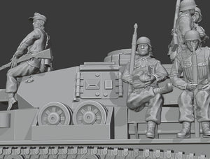 Figures German Tankriders
