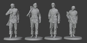 Figures Wehrmacht-Marching-Officers-Stretcher Bearer-Wehrmachtgirls