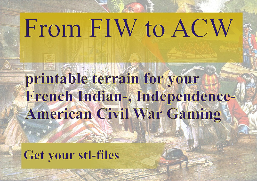 American War of Independence / French Indian War / ACW