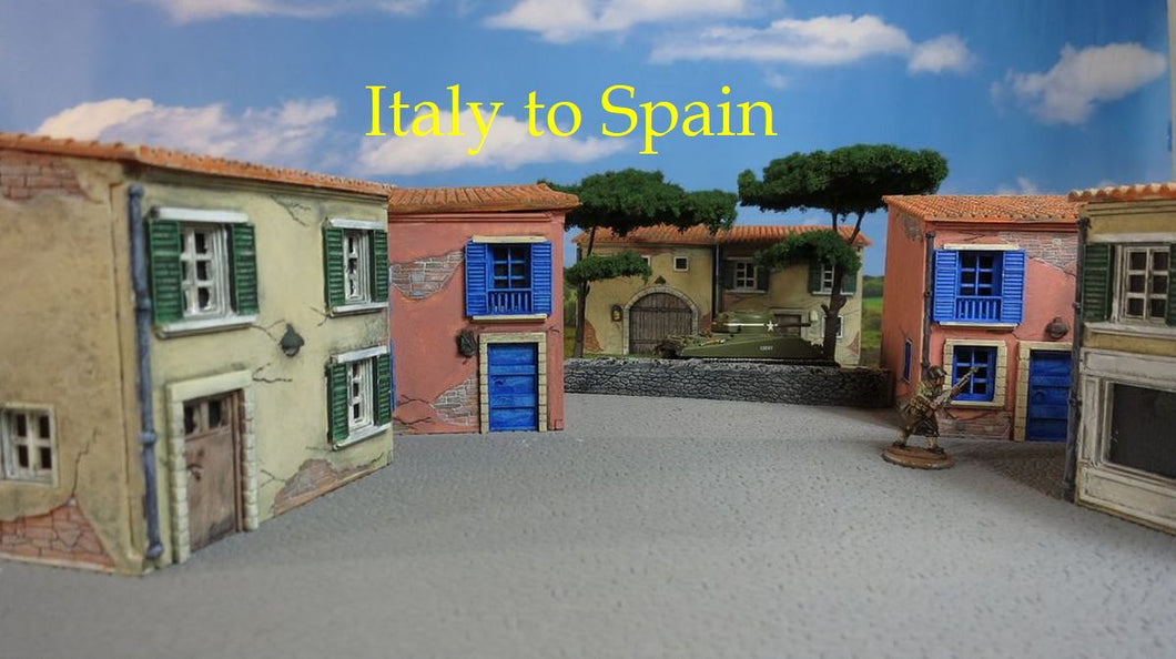 Italy to Spain