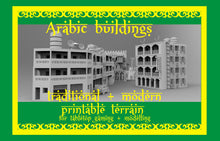 Load image into Gallery viewer, Arabic buildings modern + old