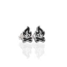 Load image into Gallery viewer, Memories by the Campfire Stud Earrings